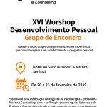 Inscrições abertas para o XVII Workshop de Desenvolvimento Pessoal